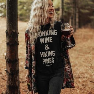Hiking pines parks apparel tank